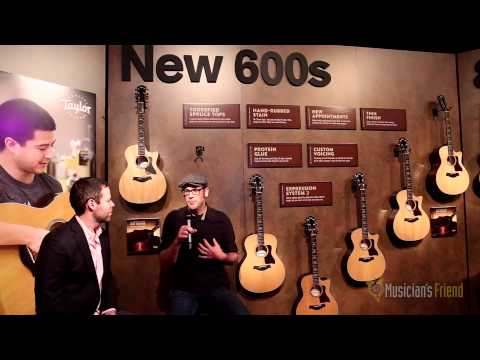 Taylor 600 Acoustic Electric Guitar Series - NAMM 2015