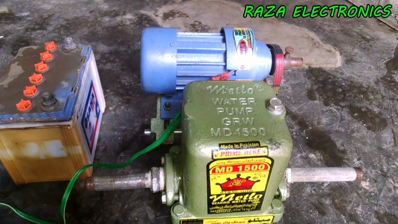 Solar Dc Motor And Water Pump Complete Guide In Urdu Hindi By Raza How To Connect Ampere Meter Home Wiring Video