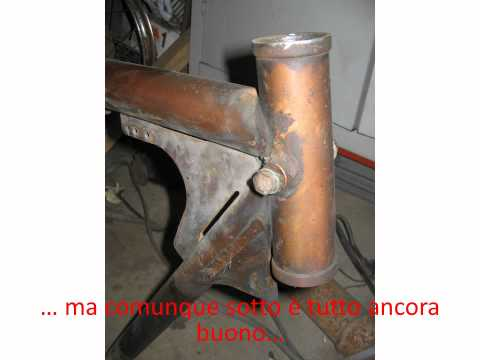 Restoration Ducati 175TS.wmv
