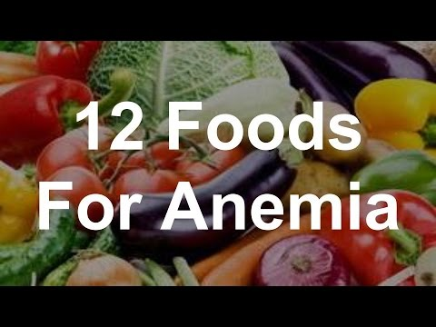 12 foods for anemia   best foods for anemia   youtube