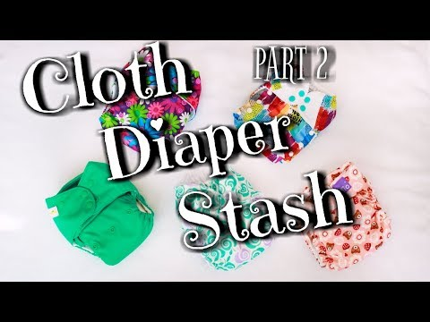 Cloth Diaper Stash   Pockets, Aio's And Wash Routine