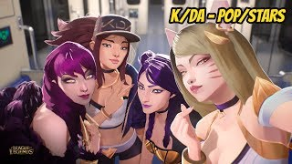 League of Legends Music K/DA - POP/STARS ⚔️🧙‍♀️🧙‍♂️💖 | #lol #leagueoflegends #moba