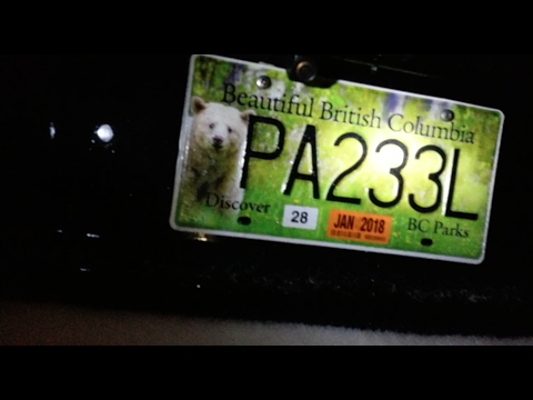 B.C. Parks Plates: Most beautiful licence plates ever designed??