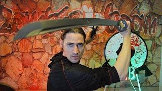 Can a Katana Cut Through Steel? Zombie Survivor Show Ep. 8 | Zombie Go Boom