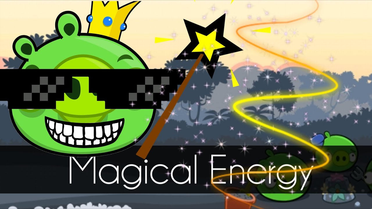 Bad Piggies - MAGICAL ENERGY (Field of Dreams) - Bug/Glitch