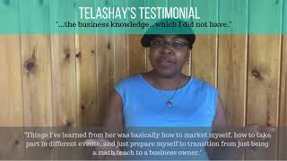 Testimonial Video - Telashay