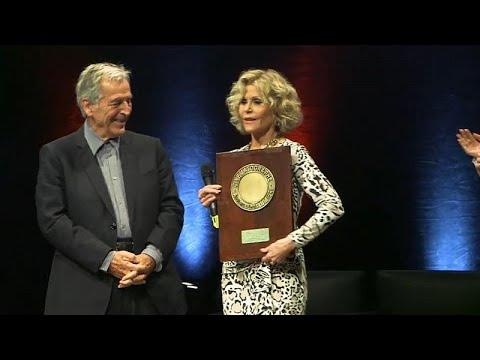 euronews (en français): Jane Fonda en pleine Lumière