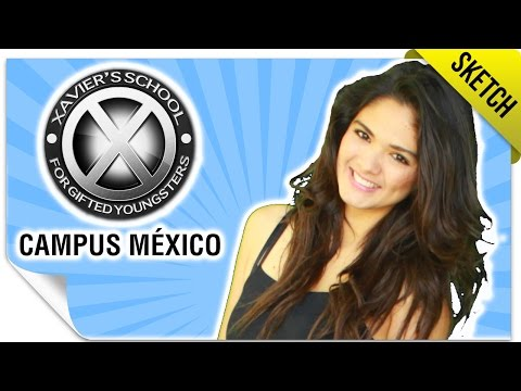 X-Men Campus México   SKETCH   QueParió!