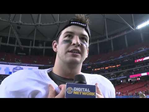 2012 SEC Football Championship: AJ McCarron Interview