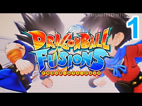 Beginning Gameplay Episode 1 | Dragon Ball Fusions