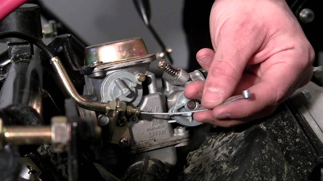 maxresdefault how to build a go kart 18 throttle cable youtube  at cita.asia