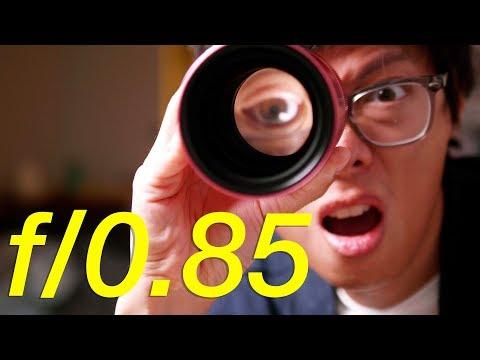Pink 40mm F/0.85 Lens BOKEH Machine!