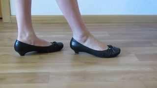 видео Купить кожаные недорогие  балетки