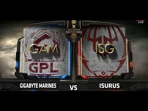 [30.04.2017 MSI 2017] GAM vs ISG Highlight | Màn ra quân ấn tượng.
