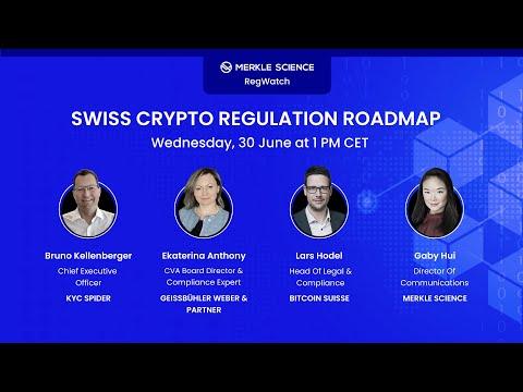 Merkle Science RegWatch: Swiss Crypto Regulations Roadmap