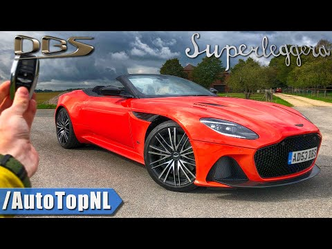 Aston Martin DBS Superleggera Volante REVIEW POV on AUTOBAHN & ROAD by AutoTopNL