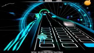 Daft Punk - Get Lucky (feat. Pharell Williams) Radio Edit Audiosurf