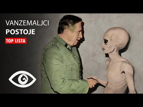 TOP 10: Zastrasujuci Dokazi Da Vanzemaljci Postoje