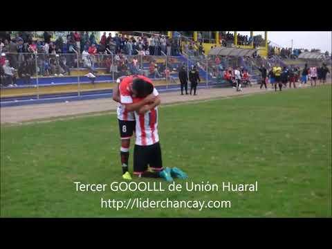 SEGUNDA DIVISIÓN. Unión Huaral - Alfredo Salinas. Gol de Carlos López