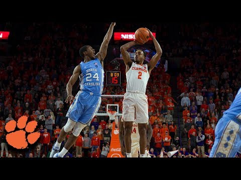 Clemson Hits Season-High 15 3-Pointers In Win vs. UNC