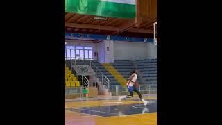 2021 WNBA Draft Prospect Awak Kuier Dunks On 10 Ft Rim