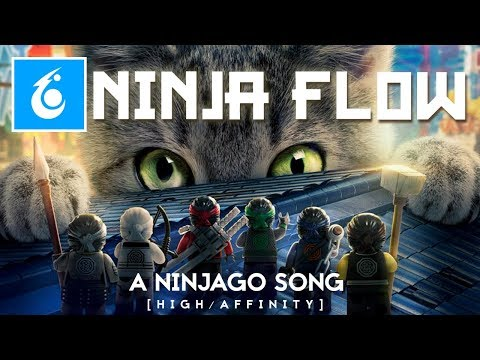 """Ninja Flow"" - An Original Ninjago Song (Music Video) - The LEGO Ninjago Movie - High Affinity"