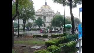 Urlaub in Mexico City Stadt Indianer Maya Azteken Kathedrale Tempel Temple Major Mormon Ruine