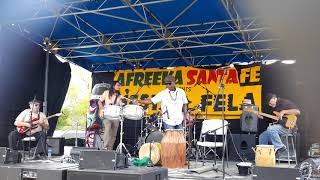 FIESTA FELA 2018 CELEBRATION – SANTA FE RAILYARD PARK  -  AFREEKA SANTA FE 2018 - WAMBA performing