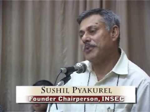 Speech of Mr Sushil Pyakurel on 17th Prakash Memoiral Day