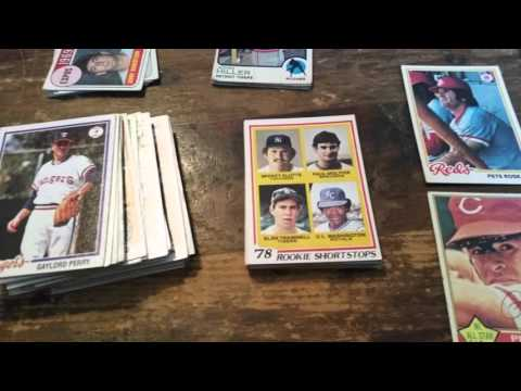 1970's Topps Baseball cards Goodwill find