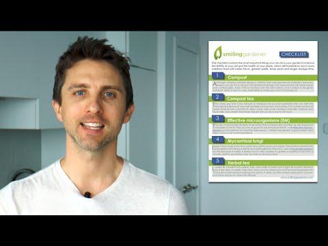 My Checklist For Growing Nutrient-Dense Organic Food