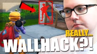 WALLHACK PLAYER KILLED MUT? | Fortnite United Kingdom