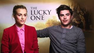 Deano talks sex scenes and air cannons with Zac Efron & Taylor Schilling