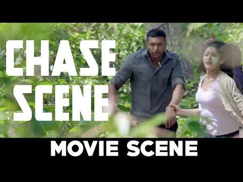 Vanamagan Chase Scene   Jayam Ravi, Sayyeshaa   Harris Jayaraj   A. L. Vijay