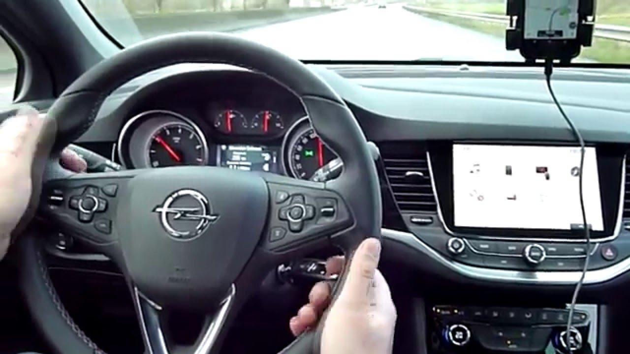 Essai De L Opel Astra K 2015 1 4l Turbo 150ch Dynamic Youtube