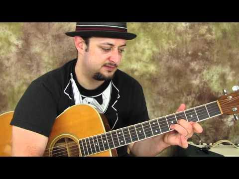 Acoustic blues lesson