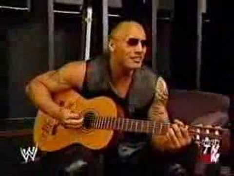 The Rock Sings Cleveland Cavaliers Suck