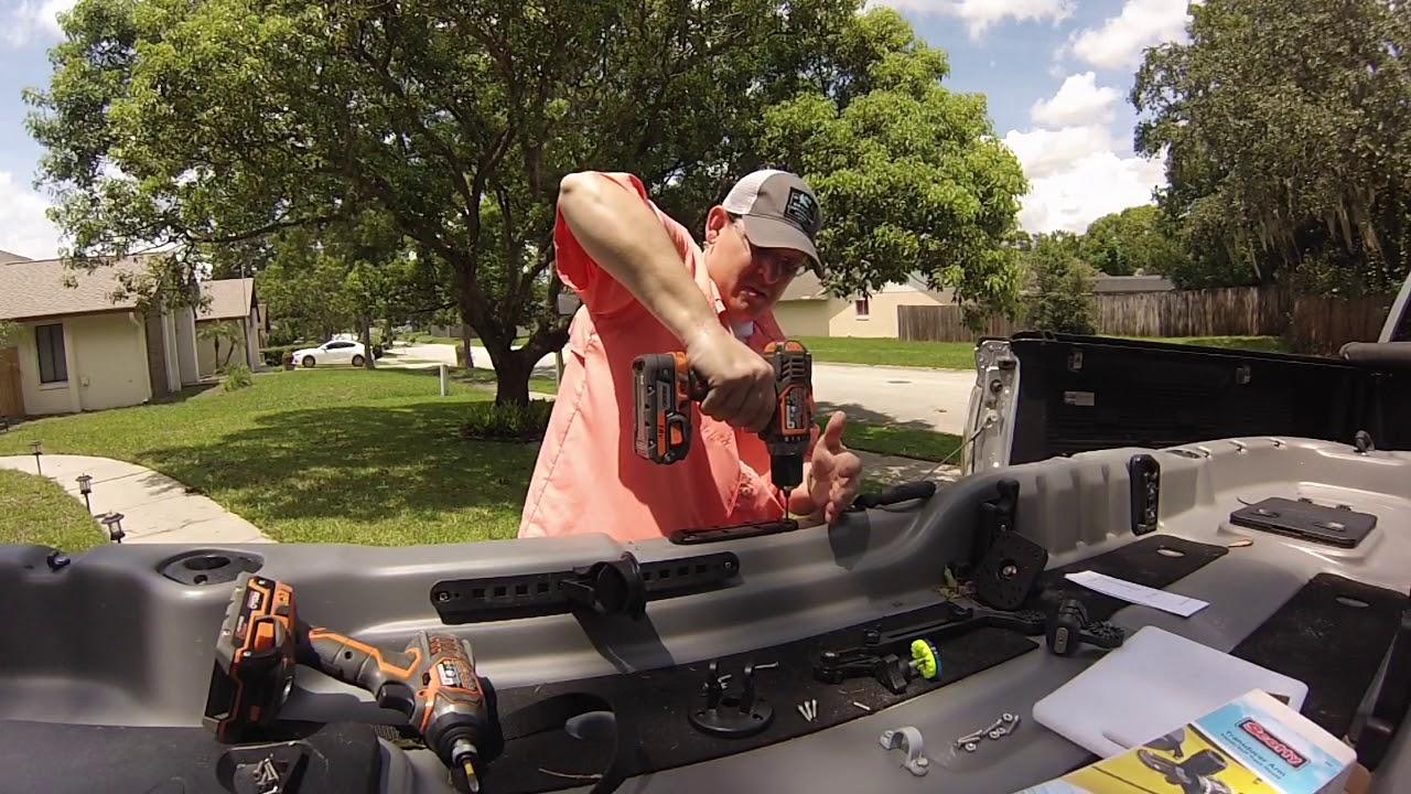 Ozark Trail Pro Angler 12 Humminbird PiranhaMax 4di Install