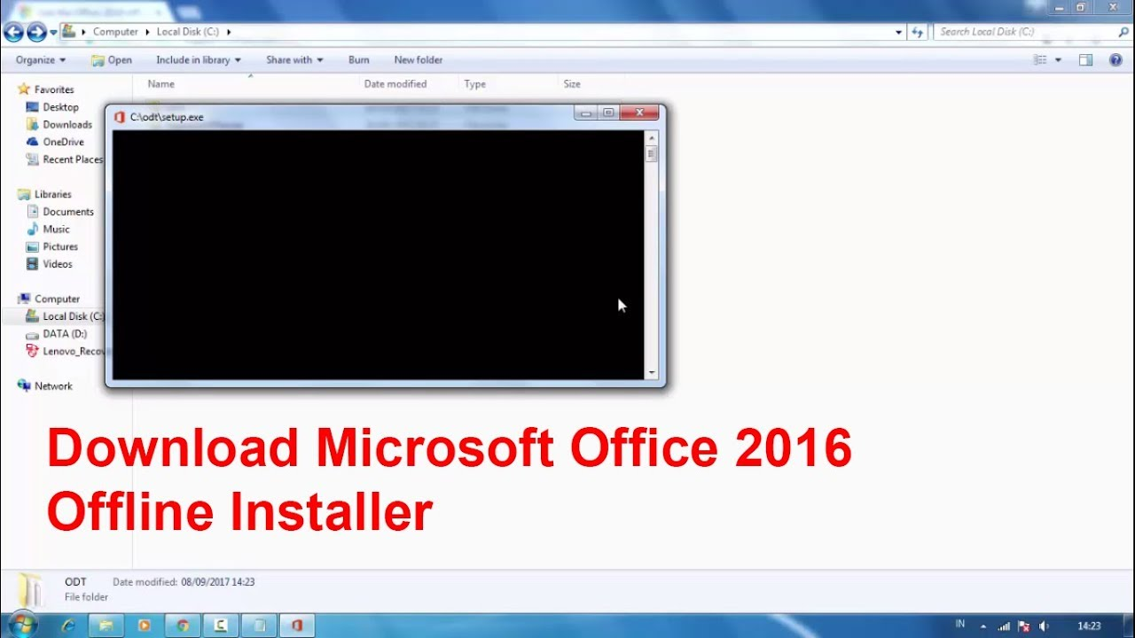 office 365 business offline installer