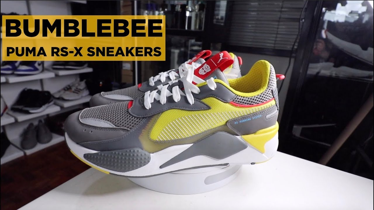311dc08e6d0 PUMA RS-X TRANSFORMERS BUMBLEBEE ON-FEET REVIEW!!! - YouTube