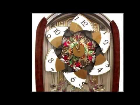 Seiko Melodies in Motion Sugar Plum Fairies Clock QXM275BRH Christmas Music  YouTube
