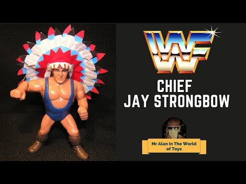 WWF Hasbro Custom Action Figure Chief Jay Strongbow Review
