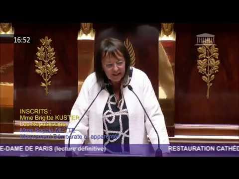 Intervention lors de la lecture définitive du PJL pour la restauration de Notre-Dame de Paris