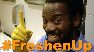 Repeat youtube video Freshen Up Toilet Attendant - Man in the Mirror - Michael Jackson Parody #FreshenUp