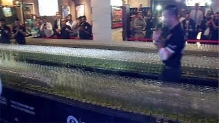 'Domino Drop Shot' world record broken in Dubai