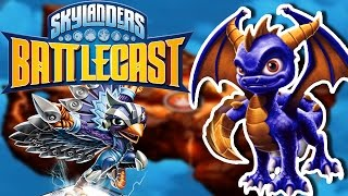Skylanders Battlecast Walkthrough Part 3 | UNLOCKING SPYRO THE DRAGON!! | IOS/Android