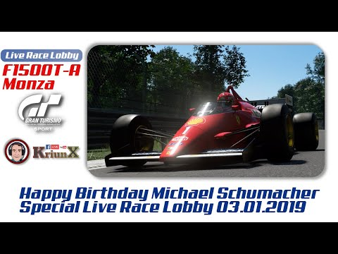 Happy Birthday Michael | Live Race Lobby | Gran Turismo Sport