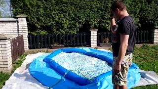 Napouštění bazénu v Dubnu !
