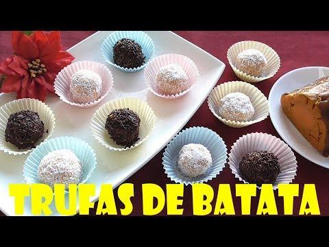 TRUFAS DE BATATA O BONIATO (FACIL Y ESTAN EXQUISITAS)