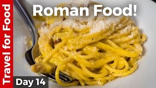 Italian Food - AMAZING ROMAN FOOD and Attractions in Rome, Italy! thumbnail